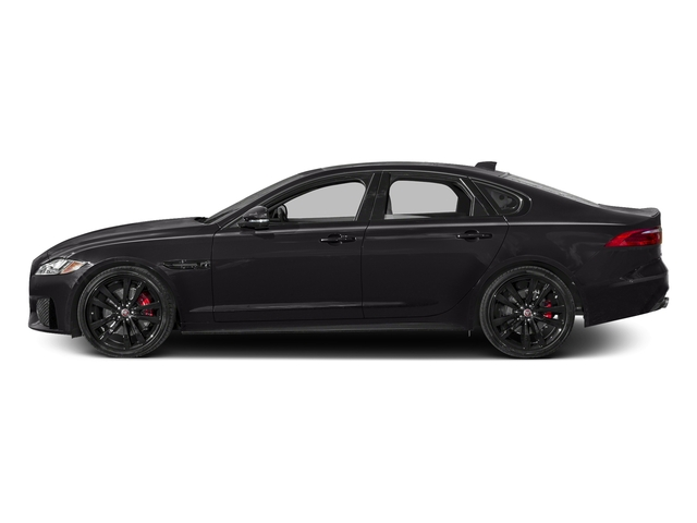 Ultimate Black Metallic 2017 Jaguar XF Pictures XF S RWD photos side view
