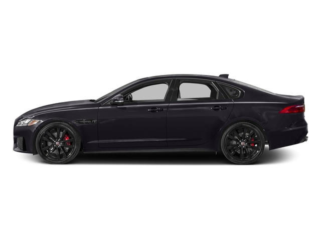 Black Berry 2017 Jaguar XF Pictures XF S RWD photos side view