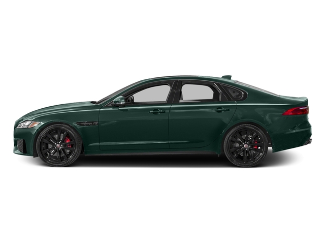 British Racing Green Metallic 2017 Jaguar XF Pictures XF S RWD photos side view
