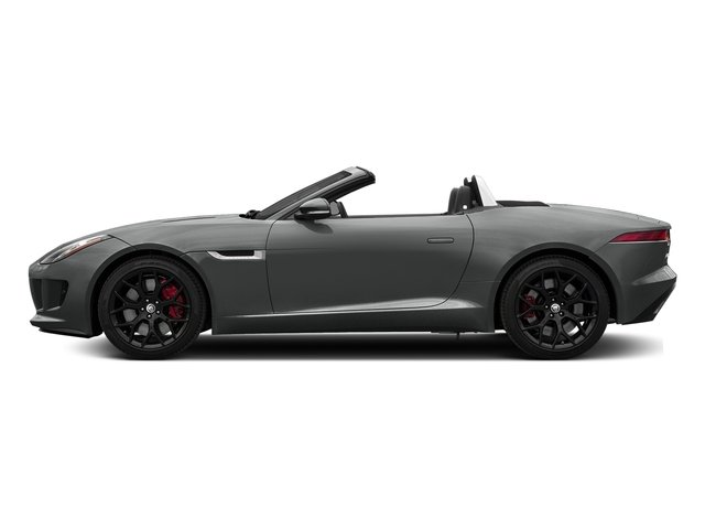 Ammonite Grey Metallic 2017 Jaguar F-TYPE Pictures F-TYPE Convertible Manual S photos side view