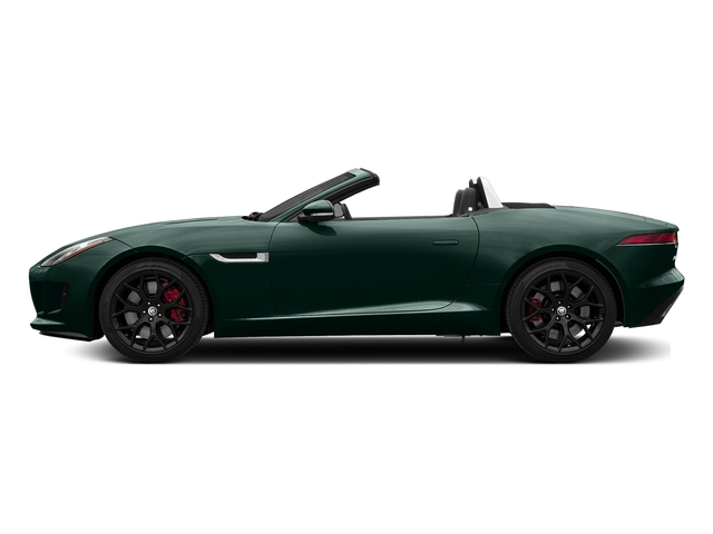 British Racing Green Metallic 2017 Jaguar F-TYPE Pictures F-TYPE Convertible Manual S photos side view