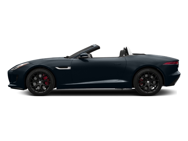 Dark Sapphire Metallic 2017 Jaguar F-TYPE Pictures F-TYPE Convertible Manual S photos side view