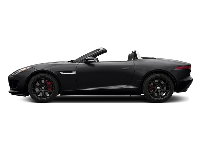 Ebony Black 2017 Jaguar F-TYPE Pictures F-TYPE Convertible Manual S photos side view