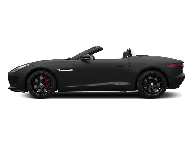 Storm Grey 2017 Jaguar F-TYPE Pictures F-TYPE Convertible Manual S photos side view