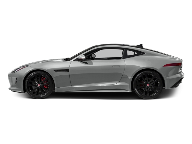 Rhodium Silver Metallic 2017 Jaguar F-TYPE Pictures F-TYPE Coupe 2D S V6 photos side view