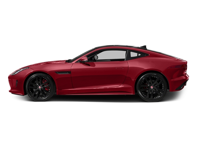 Italian Racing Red Metallic 2017 Jaguar F-TYPE Pictures F-TYPE Coupe 2D S V6 photos side view