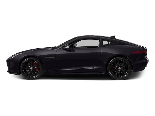 Black Berry 2017 Jaguar F-TYPE Pictures F-TYPE Coupe 2D S V6 photos side view