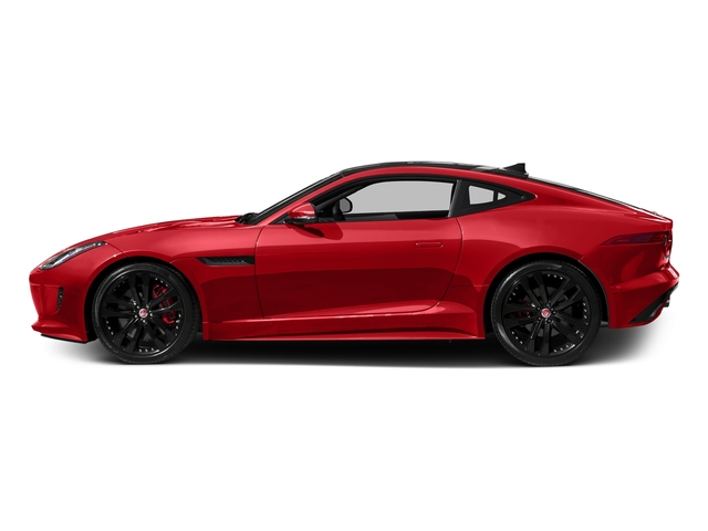 Caldera Red 2017 Jaguar F-TYPE Pictures F-TYPE Coupe 2D S V6 photos side view