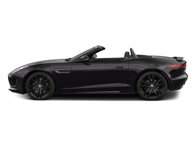 Ultimate Black Metallic 2017 Jaguar F-TYPE Pictures F-TYPE Convertible 2D S AWD V6 photos side view