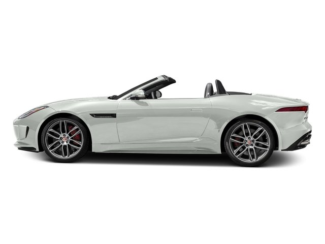 Polaris White 2017 Jaguar F-TYPE Pictures F-TYPE Convertible 2D R AWD V8 photos side view