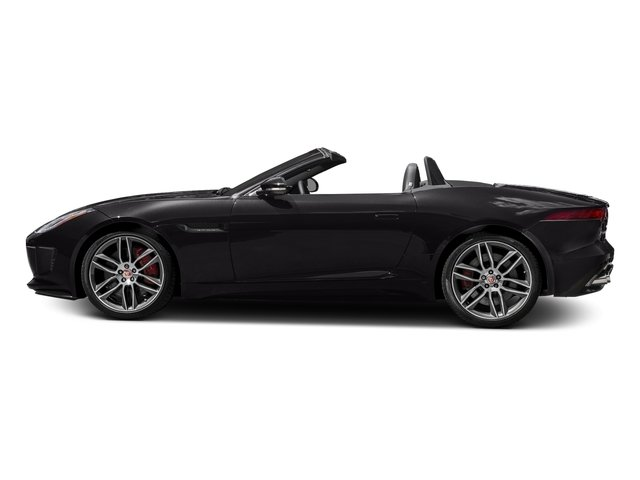 Ultimate Black Metallic 2017 Jaguar F-TYPE Pictures F-TYPE Convertible 2D R AWD V8 photos side view