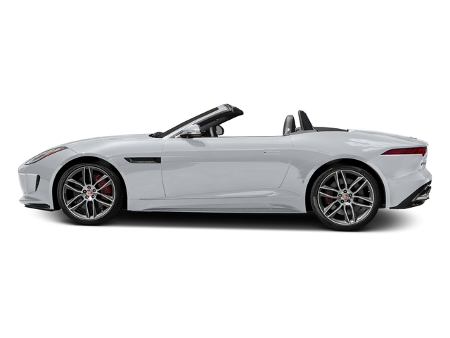 Glacier White Metallic 2017 Jaguar F-TYPE Pictures F-TYPE Convertible 2D R AWD V8 photos side view