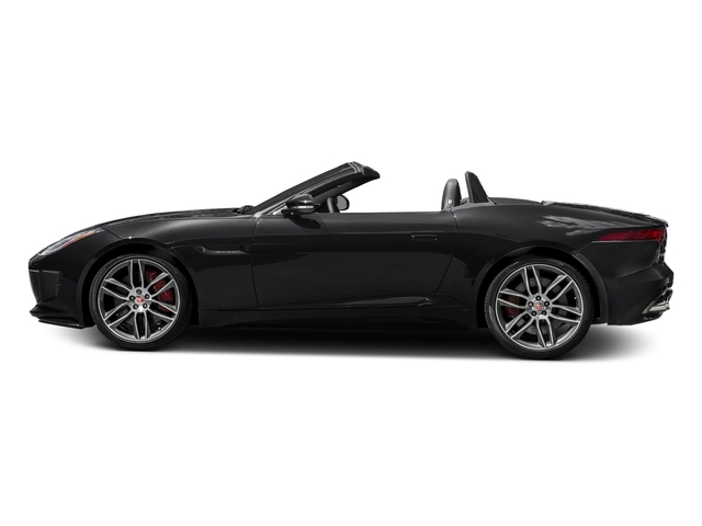 Storm Grey 2017 Jaguar F-TYPE Pictures F-TYPE Convertible 2D R AWD V8 photos side view