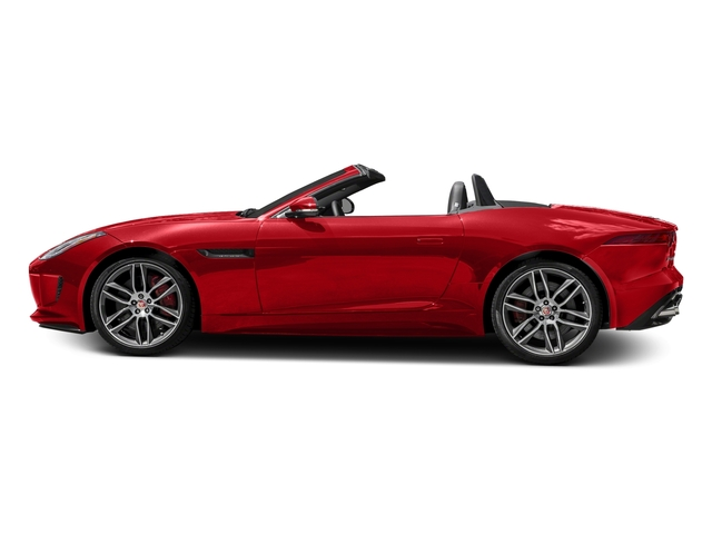 Caldera Red 2017 Jaguar F-TYPE Pictures F-TYPE Convertible 2D R AWD V8 photos side view