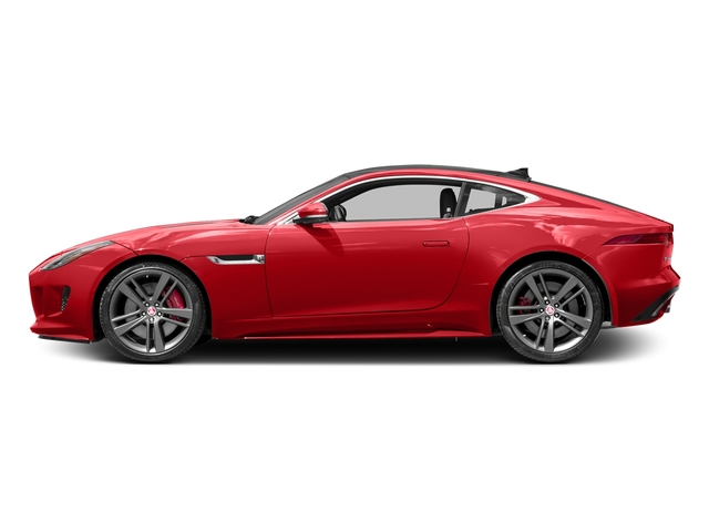 Caldera Red 2017 Jaguar F-TYPE Pictures F-TYPE Coupe 2D S British Design Edit AWD photos side view