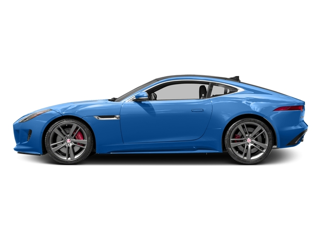 Ultra Blue Metallic 2017 Jaguar F-TYPE Pictures F-TYPE Coupe 2D S British Design Edit AWD photos side view