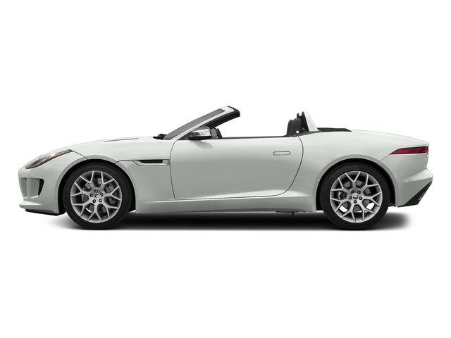 Polaris White 2017 Jaguar F-TYPE Pictures F-TYPE Convertible Auto photos side view