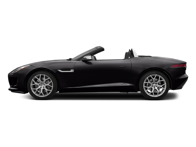 Ultimate Black Metallic 2017 Jaguar F-TYPE Pictures F-TYPE Convertible 2D Premium V6 photos side view