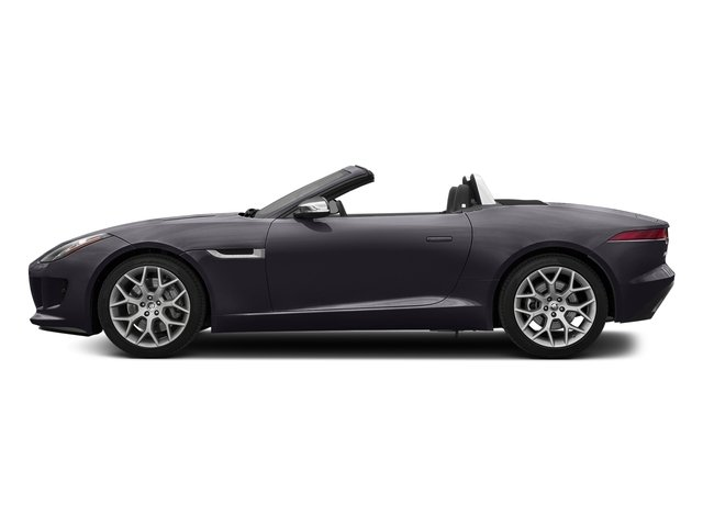 Black Berry 2017 Jaguar F-TYPE Pictures F-TYPE Convertible Manual Premium photos side view