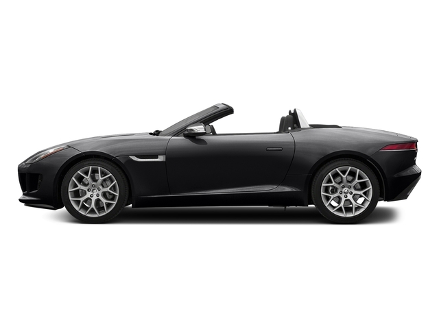 Ebony Black 2017 Jaguar F-TYPE Pictures F-TYPE Convertible Auto photos side view