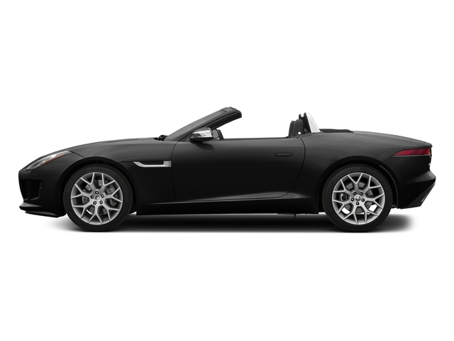 Storm Grey 2017 Jaguar F-TYPE Pictures F-TYPE Convertible Auto photos side view