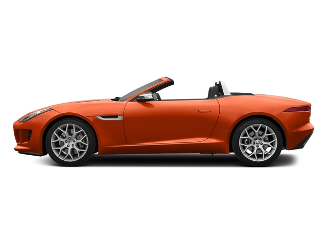 Firesand Metallic 2017 Jaguar F-TYPE Pictures F-TYPE Convertible 2D Premium V6 photos side view