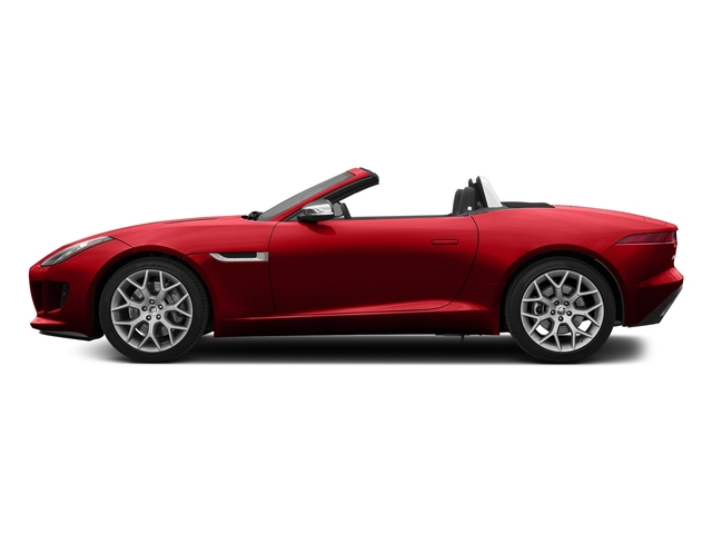 Caldera Red 2017 Jaguar F-TYPE Pictures F-TYPE Convertible Auto photos side view