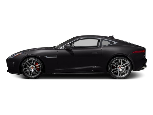 Ultimate Black Metallic 2017 Jaguar F-TYPE Pictures F-TYPE Coupe 2D R AWD V8 photos side view