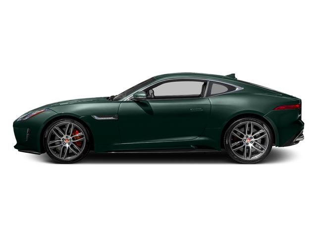 British Racing Green Metallic 2017 Jaguar F-TYPE Pictures F-TYPE Coupe 2D R AWD V8 photos side view