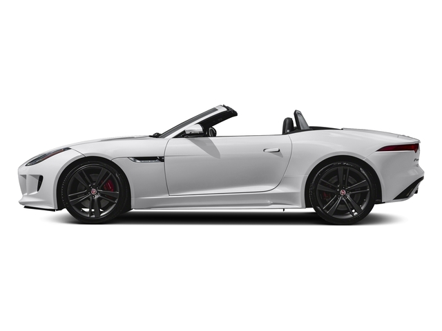 Glacier White Metallic 2017 Jaguar F-TYPE Pictures F-TYPE Convertible Auto S British Design Edition photos side view