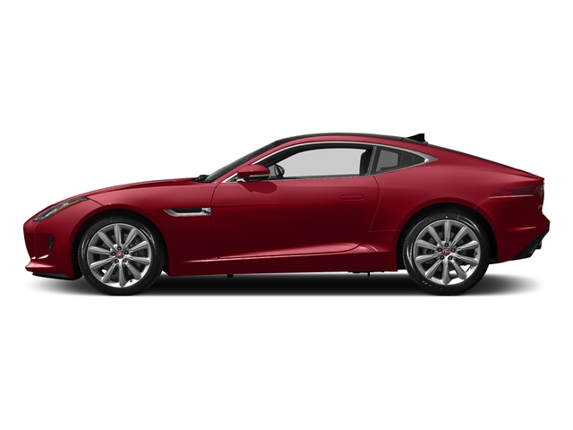 Italian Racing Red Metallic 2017 Jaguar F-TYPE Pictures F-TYPE Coupe 2D Premium V6 photos side view