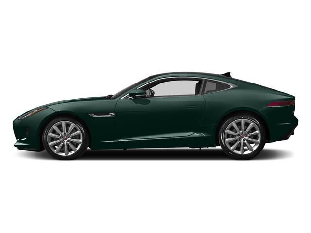 British Racing Green Metallic 2017 Jaguar F-TYPE Pictures F-TYPE Coupe 2D Premium V6 photos side view