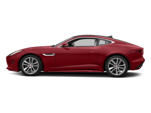 Italian Racing Red Metallic 2017 Jaguar F-TYPE Pictures F-TYPE Coupe Auto S AWD photos side view