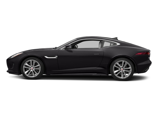 Ultimate Black Metallic 2017 Jaguar F-TYPE Pictures F-TYPE Coupe Auto S AWD photos side view