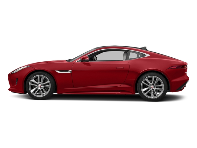Caldera Red 2017 Jaguar F-TYPE Pictures F-TYPE Coupe Auto S AWD photos side view