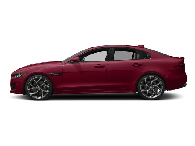 Odyssey Red Metallic 2017 Jaguar XE Pictures XE Sedan 4D 25t I4 Turbo photos side view