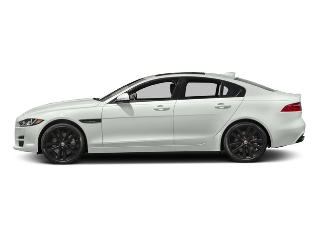Polaris White 2017 Jaguar XE Pictures XE 35t Premium AWD photos side view