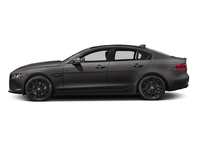 Ammonite Gray Metallic 2017 Jaguar XE Pictures XE 25t Premium RWD photos side view