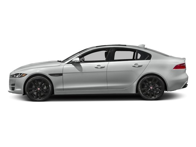 Rhodium Silver Metallic 2017 Jaguar XE Pictures XE Sedan 4D 25t Premium I4 Turbo photos side view