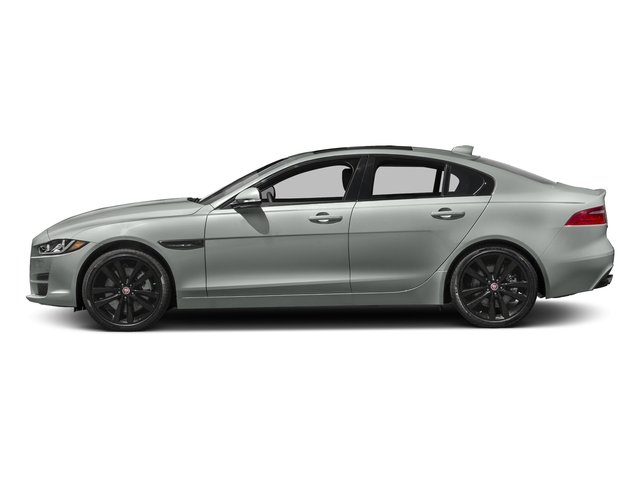 Osmium Metallic 2017 Jaguar XE Pictures XE 25t Premium RWD photos side view