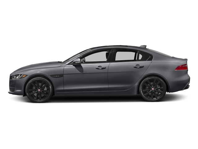 Tempest Grey 2017 Jaguar XE Pictures XE Sedan 4D 25t Premium I4 Turbo photos side view
