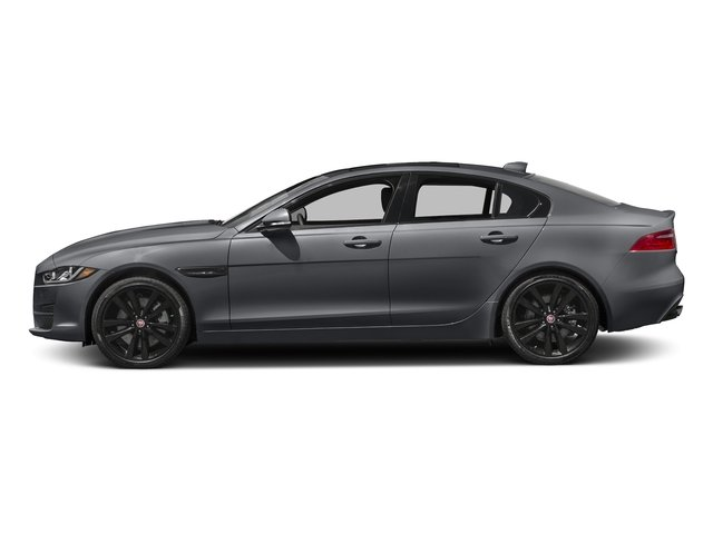 Tempest Grey 2017 Jaguar XE Pictures XE 25t Premium RWD photos side view