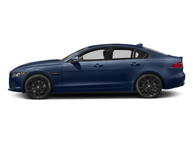 Bluefire Metallic 2017 Jaguar XE Pictures XE Sedan 4D 25t Premium I4 Turbo photos side view