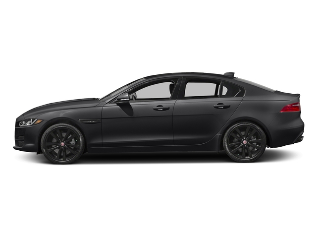 Ebony 2017 Jaguar XE Pictures XE 25t Premium RWD photos side view
