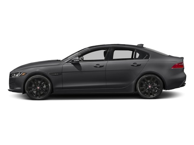 Storm Gray 2017 Jaguar XE Pictures XE 25t Premium RWD photos side view