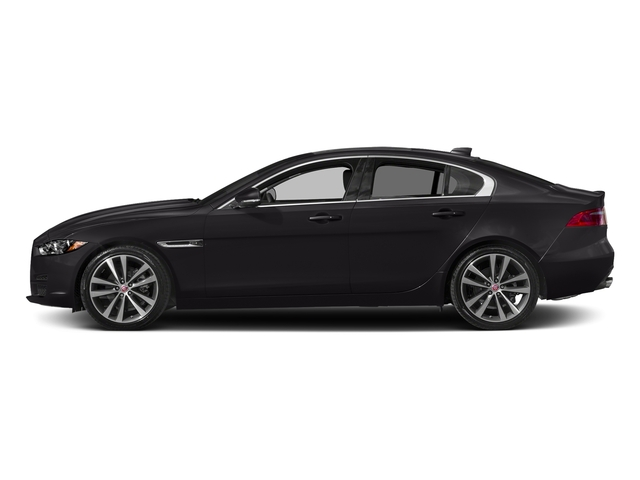 Ultimate Black Metallic 2017 Jaguar XE Pictures XE Sedan 4D 20d Prestige I4 AWD T-Dsl photos side view