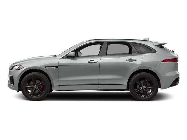 Rhodium Silver Metallic 2017 Jaguar F-PACE Pictures F-PACE Utility 4D S AWD V6 photos side view