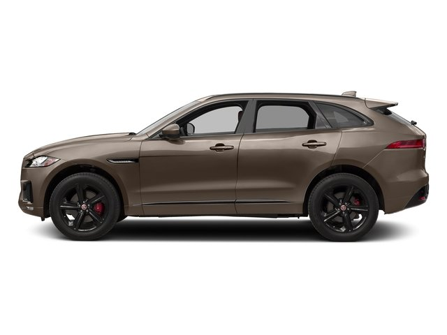 Quartzite Metallic 2017 Jaguar F-PACE Pictures F-PACE Utility 4D S AWD V6 photos side view