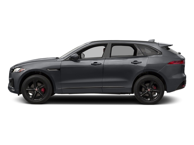 Tempest Grey 2017 Jaguar F-PACE Pictures F-PACE Utility 4D S AWD V6 photos side view