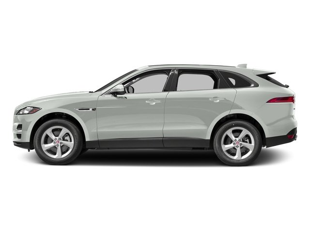 Polaris White 2017 Jaguar F-PACE Pictures F-PACE 35t Prestige AWD photos side view